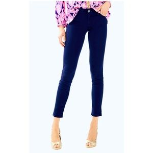 "Lilly Pulitzer ""Worth Skinny"" straight leg pant"